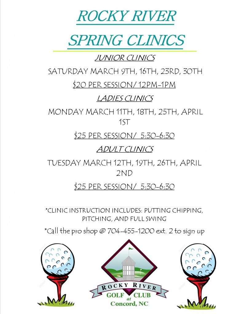 2019 Spring Clinic Flyer